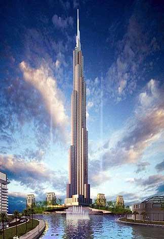 A dubai il grattacielo pi alto del mondo archivio del for Grattacielo piu alto del mondo